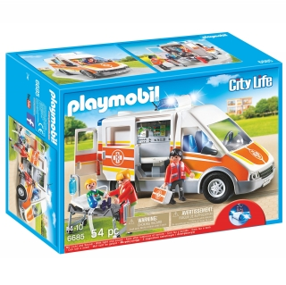 Playmobil - Ambulancia con  Luces y Sonido