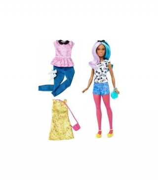 Barbie Fashionista Con Modas