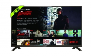 "Televisor 32"" Hd Smart Tv Led Con Wifi Netflix, Hbo, Youtube..."