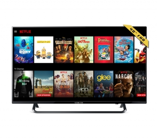 "Televisión 40"" Smart Tv Fhd 1080 Led Con Wifi Netflix, Hbo, Youtube..."