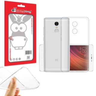 Producto Original Donkeyphone® - Funda Gel Transparente Para Xiaomi Redmi Note 4 Silicona Ultra Thin - Ultra Fina 0,33 Mm