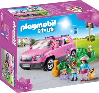 Playmobil 9404. Coche Familiar Con Aparcamiento.