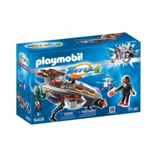 9408 Navette D'interception Sykronienne Gene, Playmobil Super 4