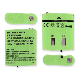 Bateria Walkie Talkies Para Motorola Hknn4002