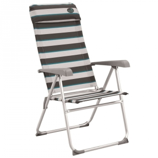 Easy Camp Silla Plegable Capella Gris 58x58x108 Cm 420023