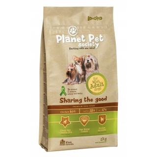Comida Para Perros Planet Pet Mini Adult Pollo Y Arroz - 2kg
