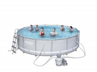 Piscinas desmontables y spas for Cubre piscina bestway