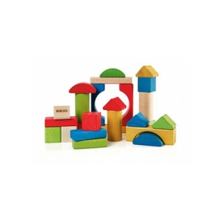 30114 Blocs De Construction Colores 25 Pieces