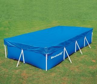 Cobertor piscina tubular 213x457x84 cm puka puka las for Suelo piscina carrefour