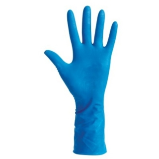 Guantes De Látex - Biosafe High Risk Talla M