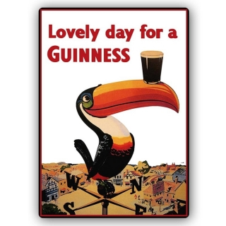Impresión Sobre Metal - Lovely Day For A Guinness Cm. 40x60