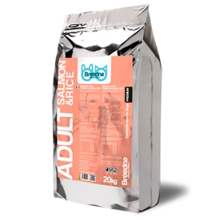 Pienso Para Perros Adult Salmon&rice 20kg Breedna