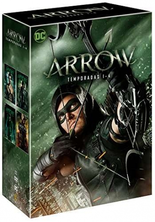 Arrow - Temporadas 1 A 4 [dvd]