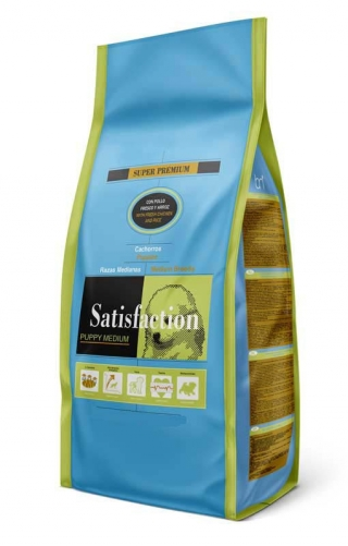Satisfaction Puppy  Medium 15 Kg
