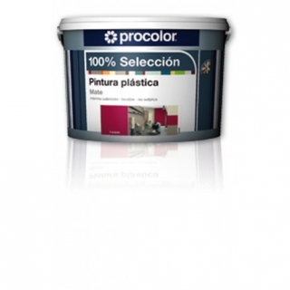 Pintura Plast Mate Purpura - 100% Seleccion - 5161546 - 2,5 L