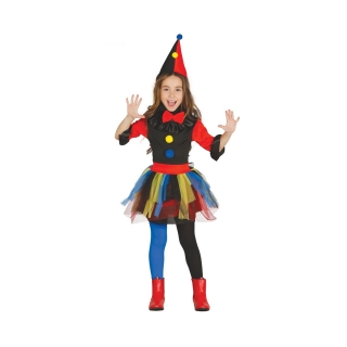 Crazy Clown Infantil Talla 5-6 Años