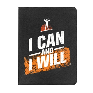 Funda Tablet Tipo Libro 360 Grados Para Ipad 2, 3, 4 I Can And I Will - Becool®