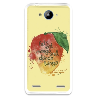 Funda Gel Zte Blade L3 Plus Becool Eat Mango And Dance Tango
