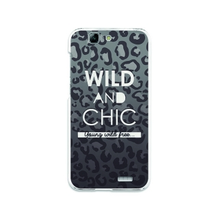 Funda Gel Huawei Ascend G7 Becool Wild And Chic