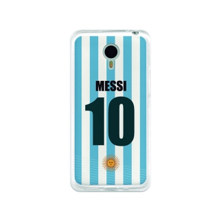 Funda Gel Meizu M1 Note Becool Messi