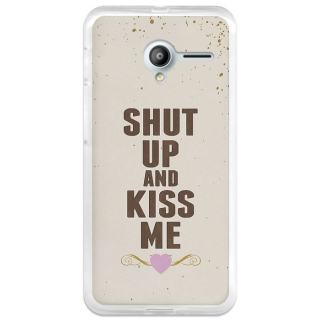 Funda Gel Vodafone Smart Speed 6 Becool Shut Up And Kiss Me