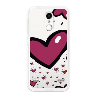 Funda Gel Flexible Tpu Para Zte Blade X5 San Valentín Corazon - Becool®