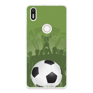 Funda Gel Flexible Tpu Para Bq Aquaris X5 Plus La Victoria Del Fútbol - Becool®