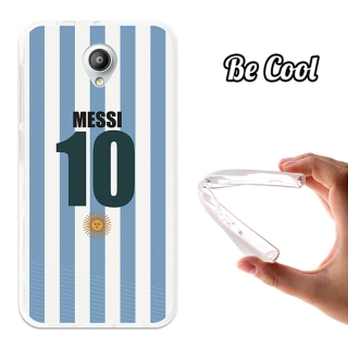Funda Gel Flexible Tpu Para Vodafone Smart Prime 7 Messi - Becool®