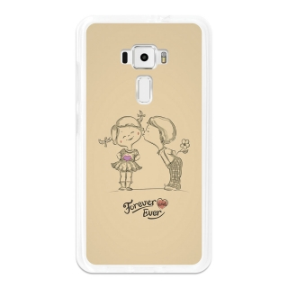 Funda Gel Flexible Tpu Para Asus Zenfone 3 Ze552kl Forever And Ever - Becool®