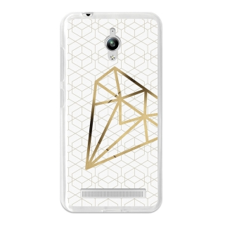 Funda Gel Flexible Tpu Para Asus Zenfone Go Zc500tg Diamante - Becool®