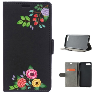 Funda Carcasa Tipo Libro Para Iphone 7 Plus Flores De Colores - Becool®