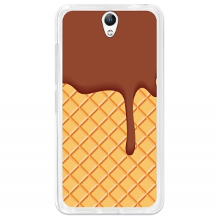 Funda Gel Flexible Tpu Para Lenovo Vibe S1 Galleta Y Chocolate - Becool®