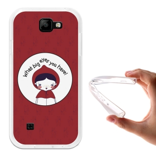 Funda Gel Flexible Tpu Para Lg K3 Caperucita Roja - Becool®
