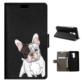 Becool® - Funda Libro Bulldog Para Huawei Honor 6x