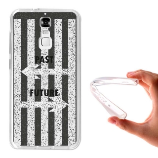Funda Gel Flexible Tpu Para Zte Blade A610 Plus Pasado Y Futuro - Becool®