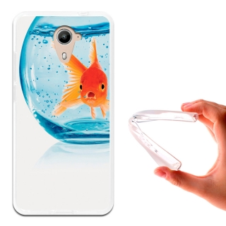 Becool ® - Funda Gel Pecera Para Wiko U Feel Prime