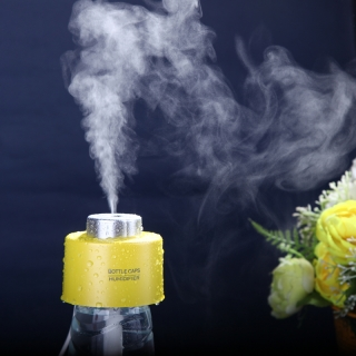 Humidificador Portátil Color Amarillo
