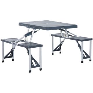 Mesa doble durolac 160x60cm las mejores ofertas de carrefour for Mesas de camping plegables carrefour