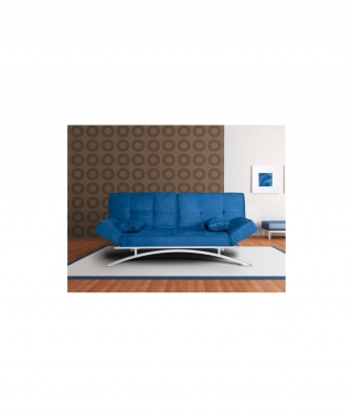 sofas cama clic clac cerde a azul con ofertas en carrefour. Black Bedroom Furniture Sets. Home Design Ideas