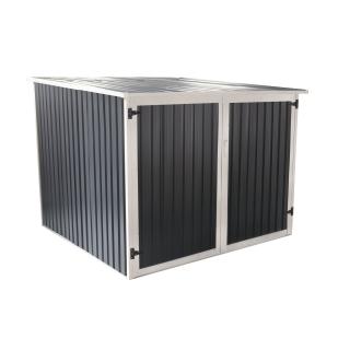 Caseta manor 4x6 gris las mejores ofertas de carrefour for Casetas carrefour
