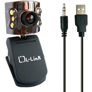 Webcam L-link 4184 5mp Pinza Negra