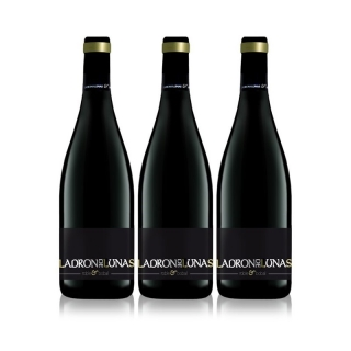 Ladrón De Lunas Vino Tinto Roble Bobal. D.o Utiel-requena. 100% Bobal. Botella De 75 Cl. Pack De 3 Botellas