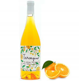 Botella vino de naranja Tarongino 75cl