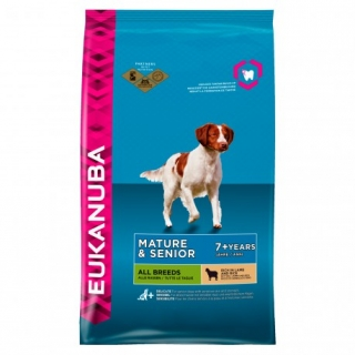 Eukanuba Mature & Senior All Breeds Lamb & Rice - Saco De 2,5 Kg