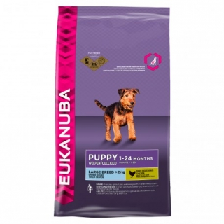 Eukanuba Puppy Large Breed - Saco De 15 Kg