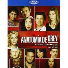 Anatomía De Grey - Cuarta Temporada [blu-ray] | Las mejores ofertas ...