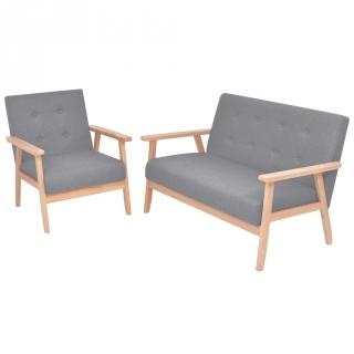 Sof cama tapizado textil nilsson 198x82x85 cm gris for Sillon cama carrefour