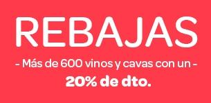 Ir a Rebajas -20% en más de 600 vinos y cavas