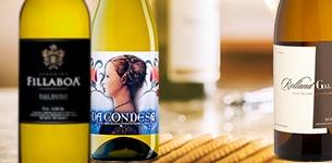 Ir a -10% de descuento en vinos blancos radiantes