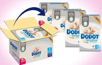 Ir a Nuevos Formatos Ahorro Dodot Sensitive - Exclusivo Online-
